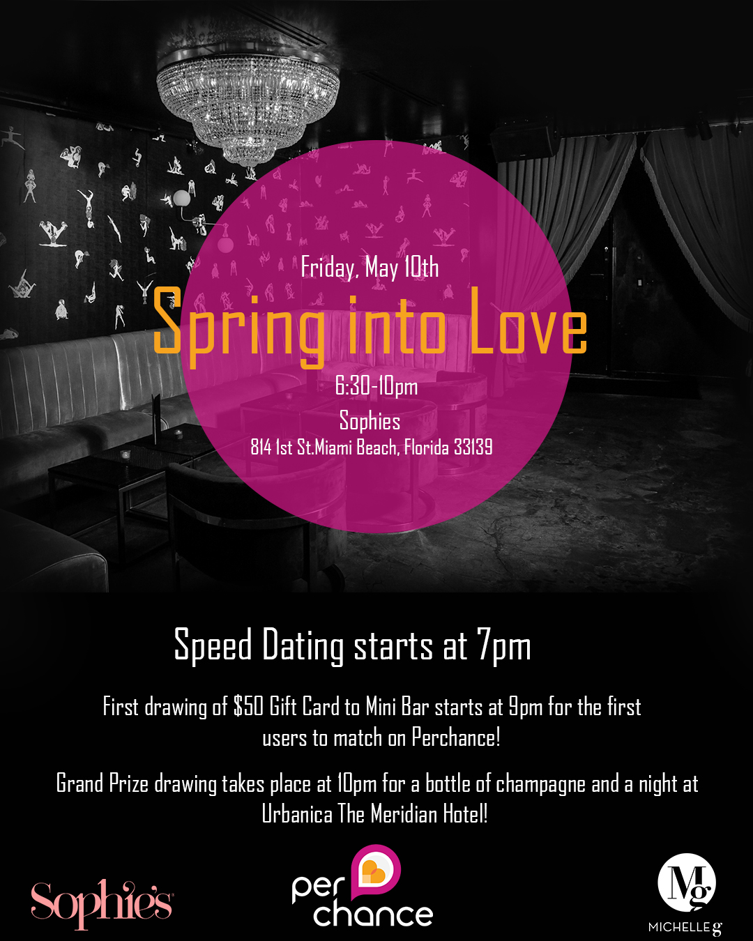 Speed dating flyers