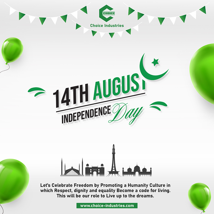 Independence Day 14th August