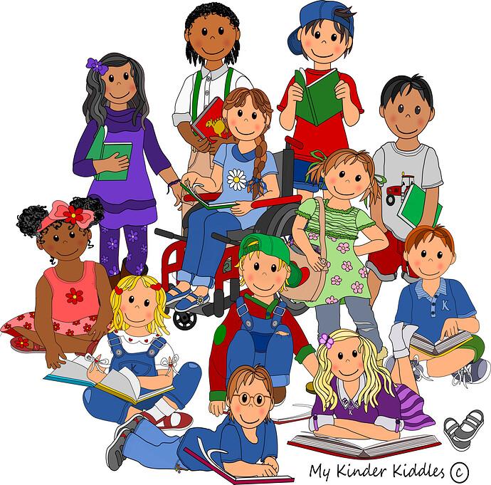 Book Group Kids
