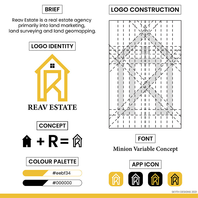 REAV ESTATE LOGO DESIGN_PRESI copy