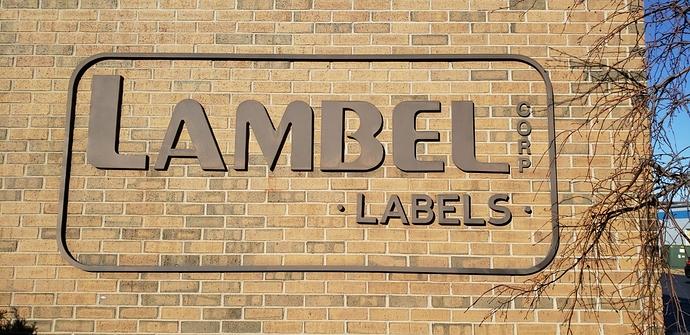 Lambel sign