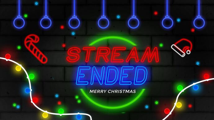 Stream Ended