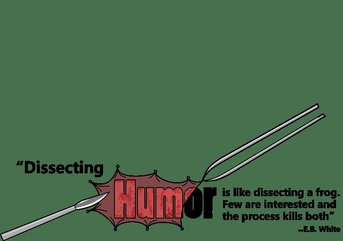 HUmorDissectionBumpersticker