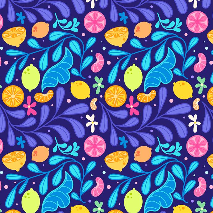 lemon-pattern