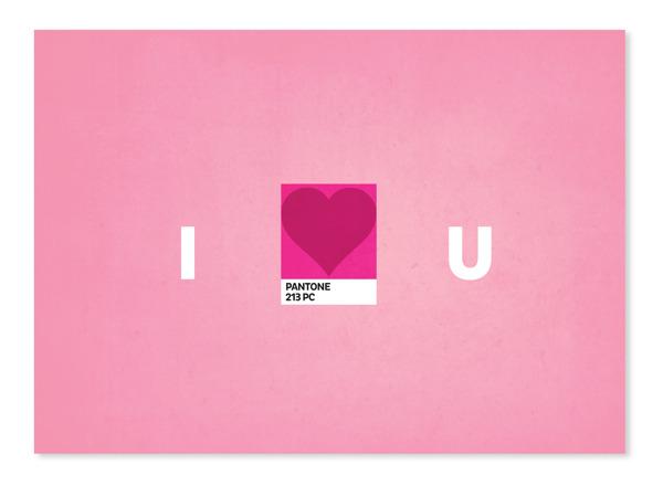 PAntone-Valentine-Card