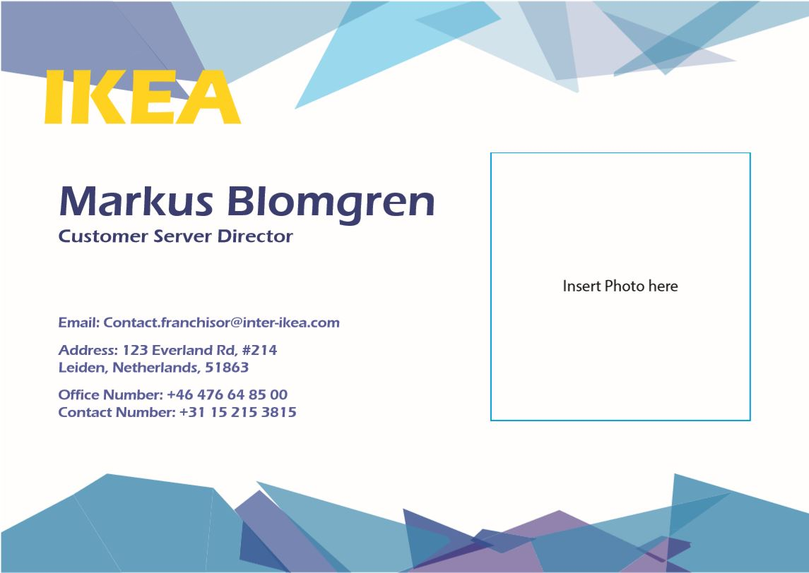 FILE - Business Card (Front)