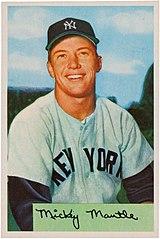 160px-1954_Bowman_Mickey_Mantle