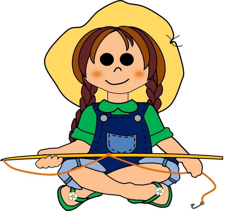 Girl Fishing
